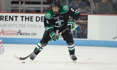 UND Hockey: Troy Stecher Making an Impact at North Dakota