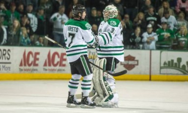 UND Hockey: Goalie Zane Gothberg out Indefinitely with Lower-Body Injury