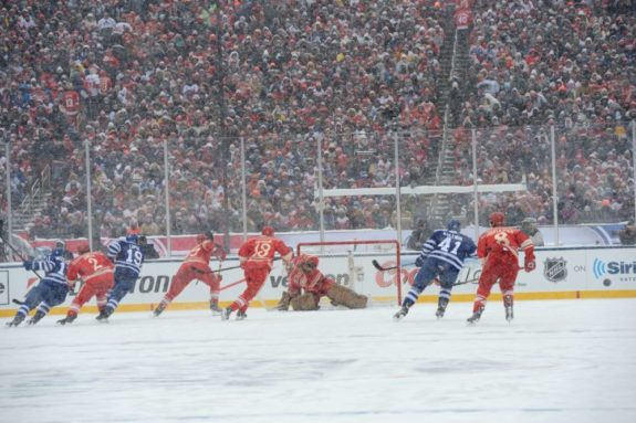 Winter Classic, Red Wings, Maple Leafs