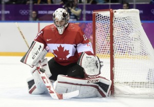 Carey Price's performance in Sochi outshined Brodeur in Salt Lake. (Eric Bolte-USA TODAY Sports)