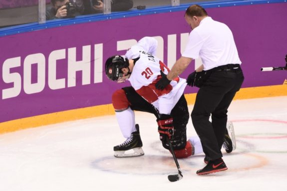 John Tavares, Canada, Olympics, Injury