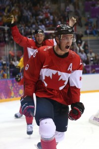 Jonathan Toews has won 2 Olympic gold medals and was named the best forward in the 2010 Vancouver Olympics.