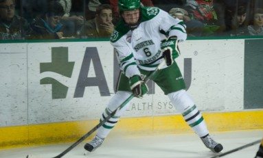 UND Hockey: Grand Forks Cousins make an Impact in First Season with UND