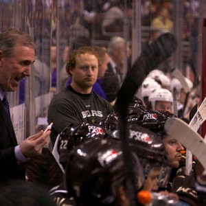 Hershey Bears coach Mike Haviland