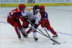 Russia vs. Switzerland, 2011 IIHF Women's World Championships (_becaro_/Flickr)