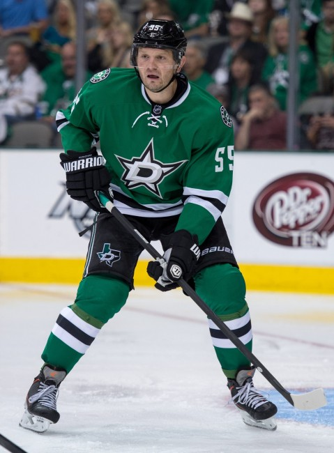 Sergei Gonchar and the Stars will need to take their play to the next level if they want to make the 2014 NHL playoffs (Jerome Miron-USA TODAY Sports)