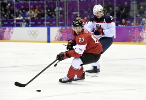 Olympic hockey lacks fighting. Does the NHL need to follow the IIHF's lead? (Scott Rovak-USA TODAY Sports)