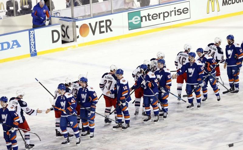 Islanders Rangers Stadium Series. The Islanders and ... 76aec8da9
