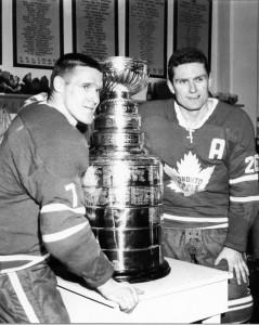 Tim Horton, Tim Hortons, NHL, Toronto Maple Leafs, Allan Stanley, Stanley Cup, Hockey, Coffee