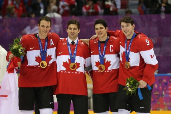 Sidney Crosby could captain the 2022 Canadian Olympic Hockey team.