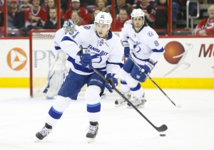 Filppula is the only Stanley Cup champion on Tampa's roster. (James Guillory-USA TODAY Sports)