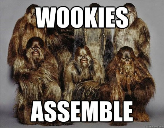 Chewbacca and his friends simply predict the medal winners for the 2014 Olympic Men's Hockey Tournament in Sochi.