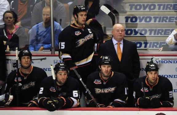 The Ducks roll out an impressive offensive core, led by captain Ryan Getzlaf (Gary A. Vasquez-USA TODAY Sports)