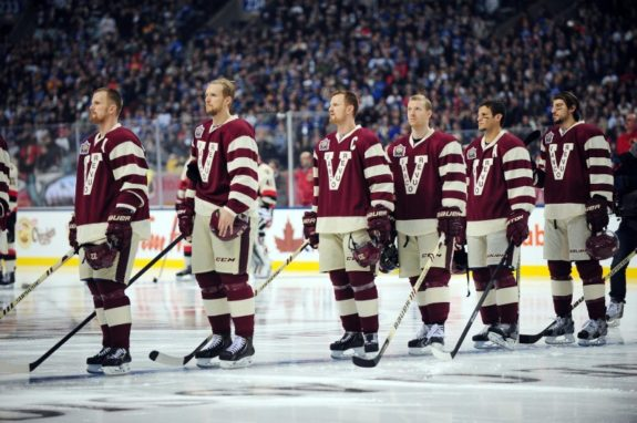 Vancouver Canucks, Heritage Classic