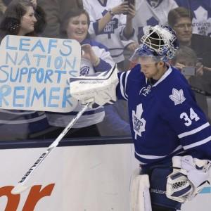 James Reimer, April Reimer, Tweet Sweet, NHL, Toronto Maple Leafs, Twitter