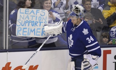 Looking at James Reimer's Future Team