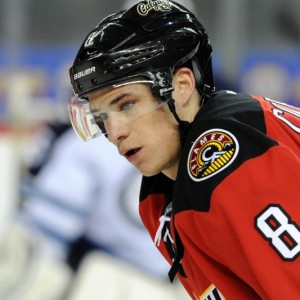 Calgary Flames forward Joe Colborne