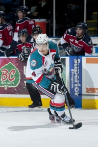 Kelowna Rockets defenseman Madison Bowey (Marissa Baecker/Kelowna Rockets)