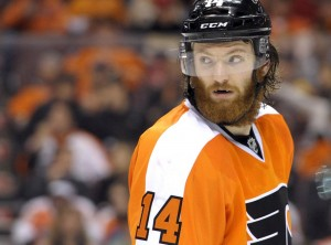 Sean Couturier (Eric Hartline-USA TODAY Sports) stanley cup playoffs