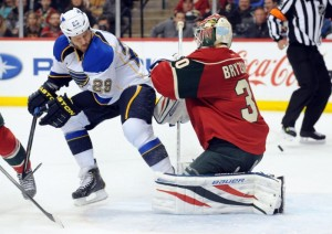 Steve Ott was acquired by the Blues in the Ryan Miller deal last season (Marilyn Indahl-USA TODAY Sports)