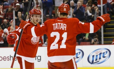 Tomas Tatar Scoring Like Gustav Nyquist