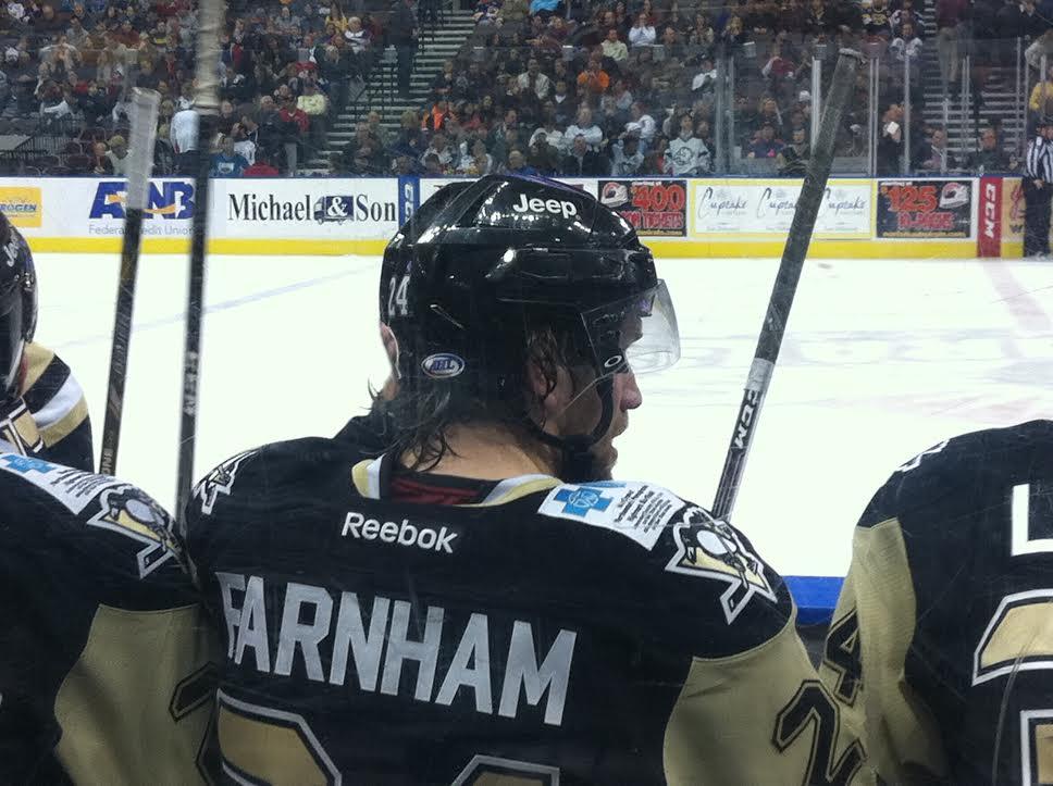 Bobby Farnham hockey