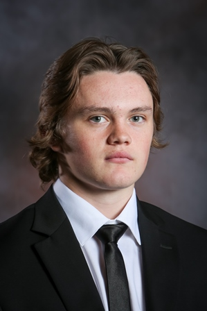 UND forward Luke Johnson (UND Athletics)