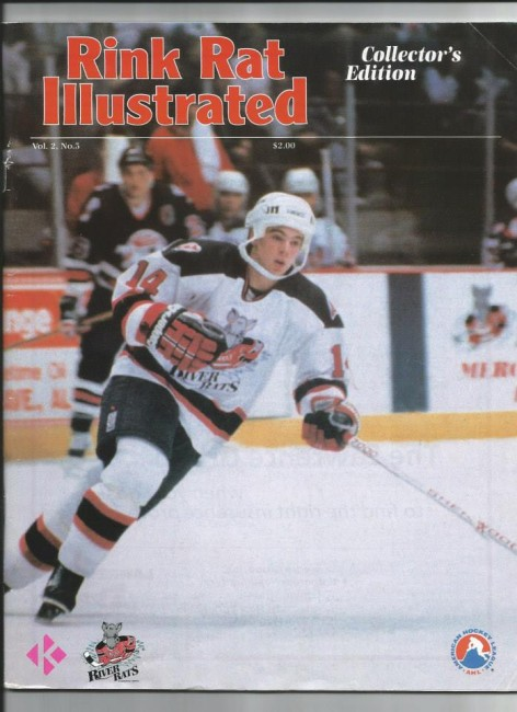 Albany River Rats Steve Sullivan (Rink Rat Illustrated).