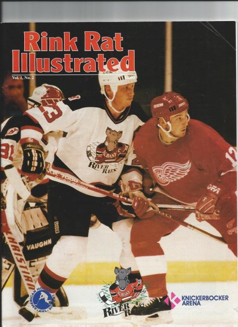 Albany River Rats and Adirondack Red Wings (Rink Rat Illustrated).