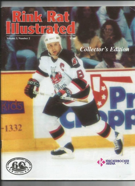 Albany River Rats Scott Pellerin (Rink Rat Illustrated).