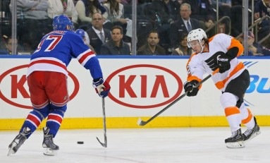 The Carcillo Effect and Other Rangers/Flyers Storylines