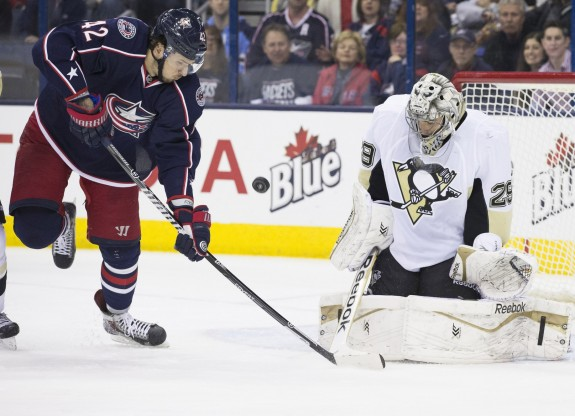 Is this Marc-Andre Fleury's final season with the Pittsburgh Penguins? (Greg Bartram-USA TODAY Sports)