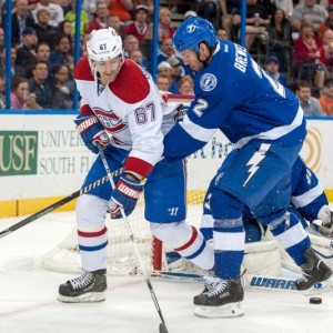 Bolts & Habs battle (Jeff Griffith-USA TODAY Sports)