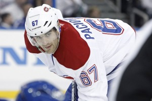 Montreal Canadiens forward Max Pacioretty