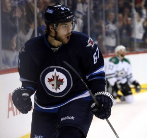 Winnipeg Jets forward Michael Frolik