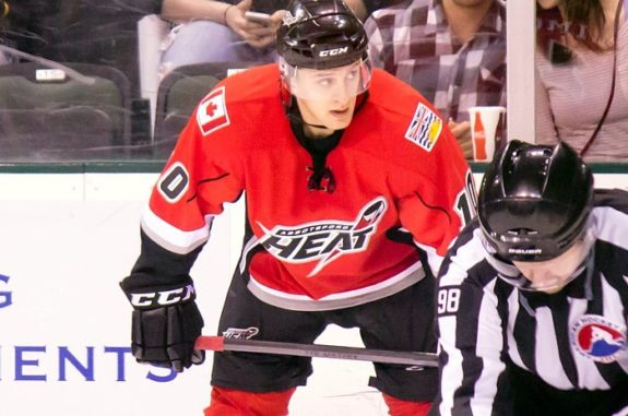 Morgan Klimchuk Abbotsford Heat