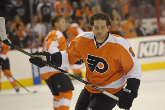 The value of Steve Downie can be measured in the Flyers' 31-13-5 record with him in the lineup.