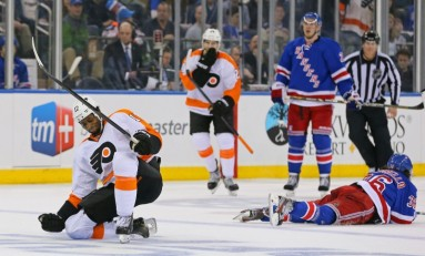 NY Rangers Get Penguinitis - Fall to Flyers in Game 2