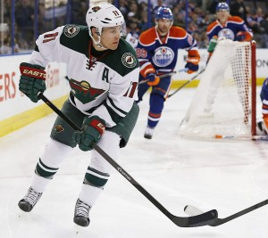 Zach Parise has been solid for the Minnesota Wild all year. He currently has the tenth-most goals in the NHL. (Perry Nelson-USA TODAY Sports)