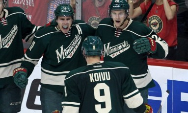 Right Place, Right Time: Zach Parise Putting in Work for Wild