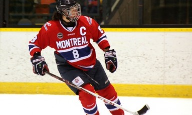 Who Were the Top Five Offensive Defenders in the CWHL?