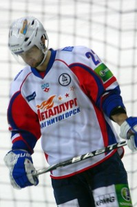 Enver Lisin, an ice-hockey player from Metallurg Magnitogorsk