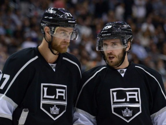 Los Angeles Kings Carter and Richards
