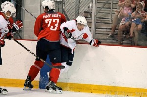 Christian Djoos at the Capitals 2012 Development Camp (M. Richter/Capitals Outsider)