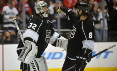Kings Push Blackhawks to the Brink with 5-2 Win