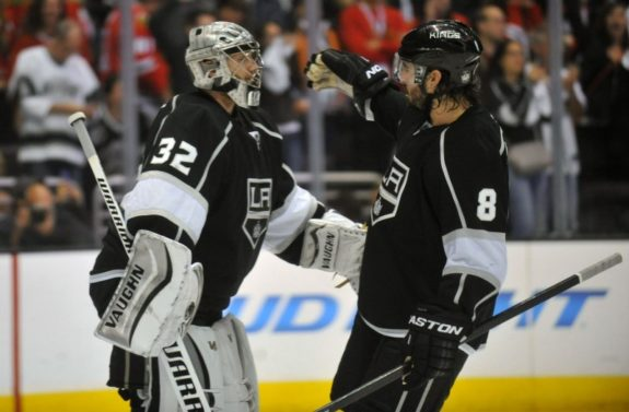 Los Angeles Kings Quick and Doughty