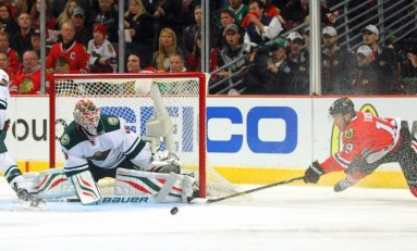 None Shall Pass: Bryzgalov Blocks Kuemper's Path