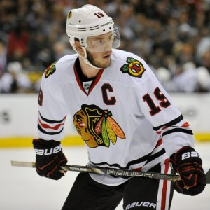The Selke now goes to players with more offensive upside, like Jonathan Toews. (Gary A. Vasquez-USA TODAY Sports)