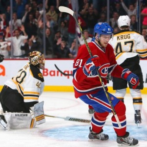 The Canadiens have been Rask's (40) kryptonite in his career. (Jean-Yves Ahern-USA TODAY Sports)