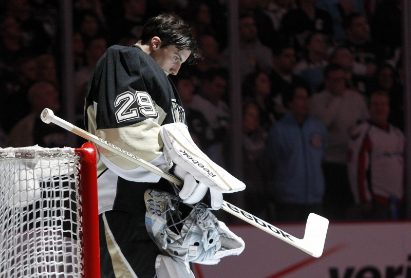 Fleury (Charles LeClaire-USA TODAY Sports)